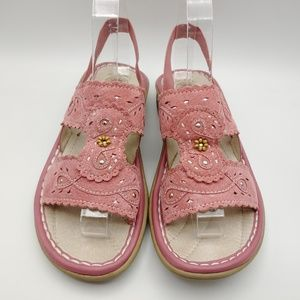 Earth Pink sandals 8 WIND